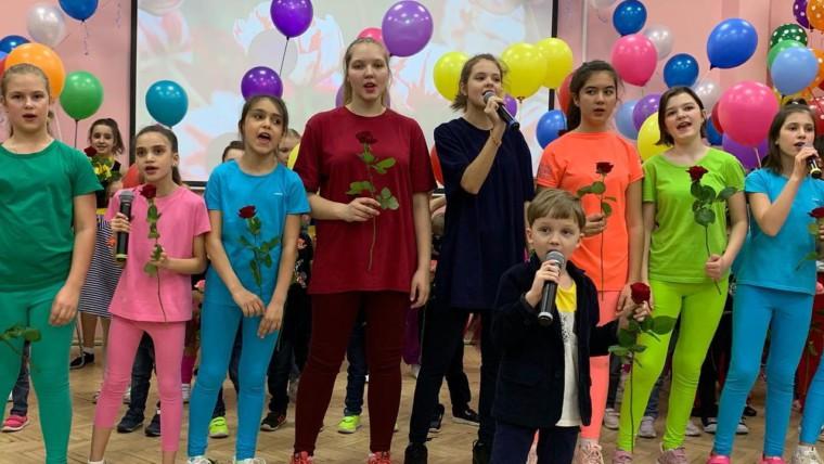Детский центр «Отражение» поздравил женщин с наступающим праздником «8 марта»