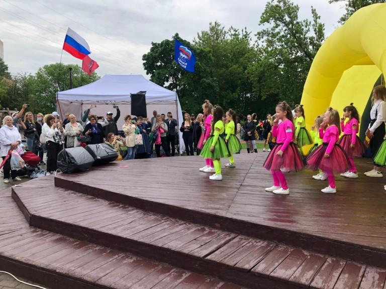 На Беловежском пруду прошло мероприятие посвящённое Дню защиты детей
